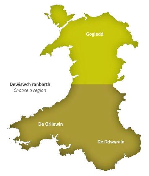 Flintshire Welsh Is Dead SteCymrus Smiley Faces - Welsh language map
