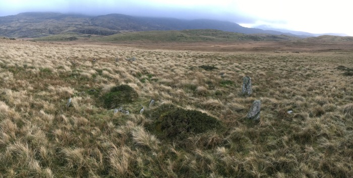 Possible stone circle or ring cairn